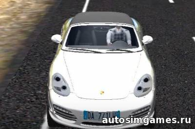 Porsche Boxster S для City Car Driving 1.5.1
