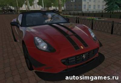 Ferrari California Tuning для City Car Driving 1.5.0