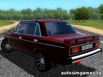 Ваз 2106 Колхоз v1.5 для CIty Car Driving 1.5.0