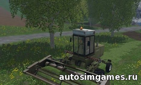 Скачать комбайн fortschritt E302 для Farming Simulator 2015