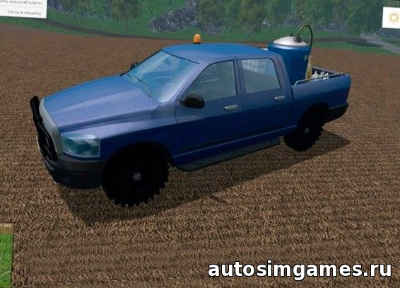 Dodge Ram Service для Farming Simulator 2015