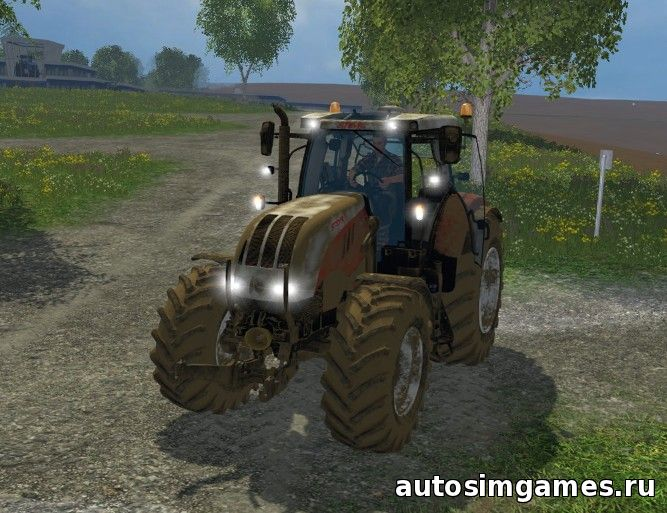 Скачать трактор Steyr CVT 6230 для Farming Simulator 2015