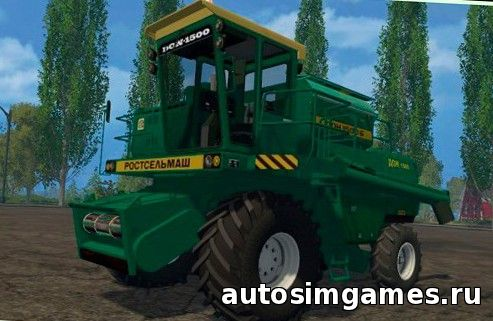 комбайн дон-1500 для Farming Simulator 2015
