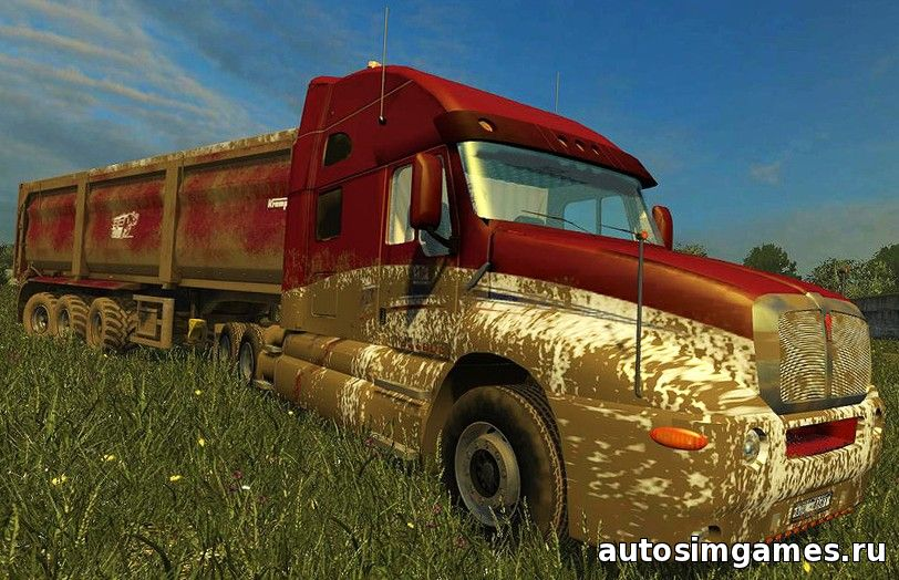 скачать Kenworth KT2000 для farming simulator 2015