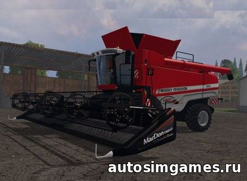 скачать комбайн massey ferguson 9895 для Farming simulator 2015