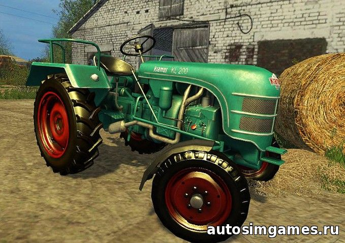 скачать трактор Kramer KL200 для Farming Simulator 2015