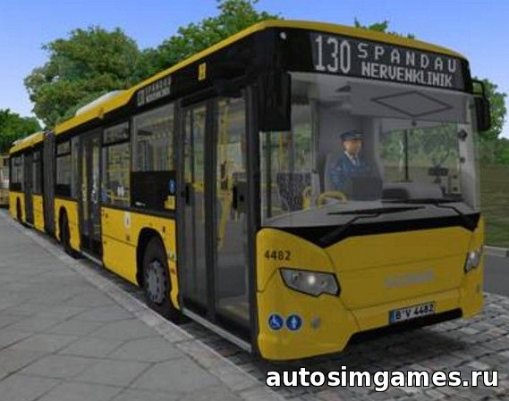 автобус Scania Citywide GN14 для omsi 2
