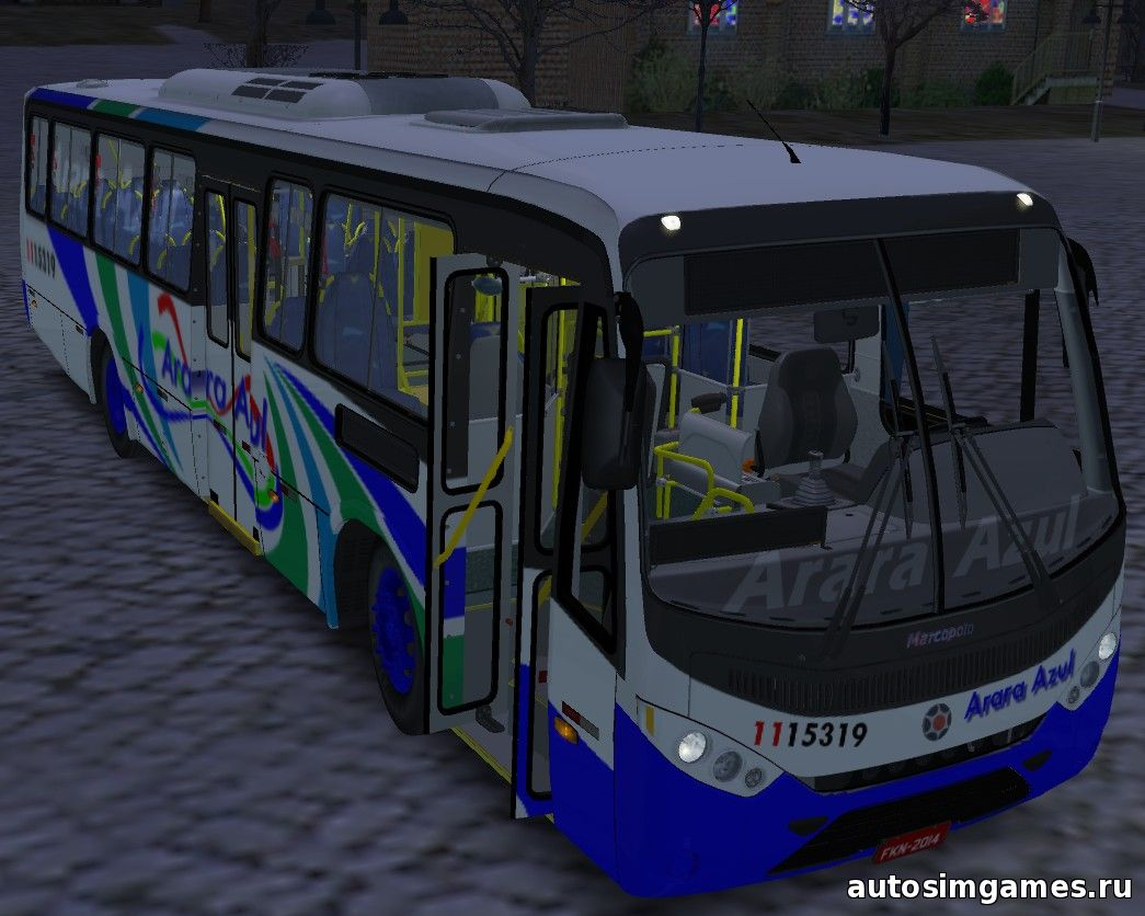 marcopolo senior-midi mb-of1519 EV для omsi 2