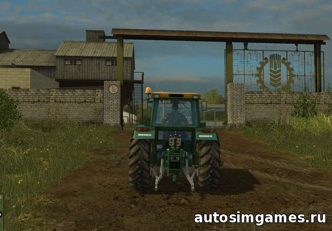 карта россии для farming simulator 2015