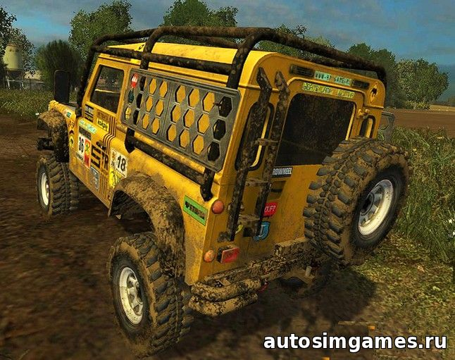 скачать land rover defender dakar для farming simulator 2015