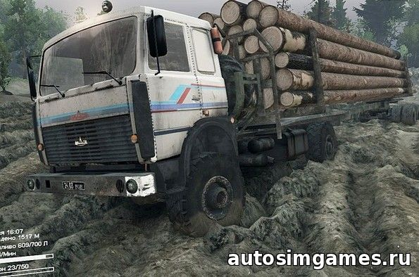 Maz 6315 spintires 2015 mods