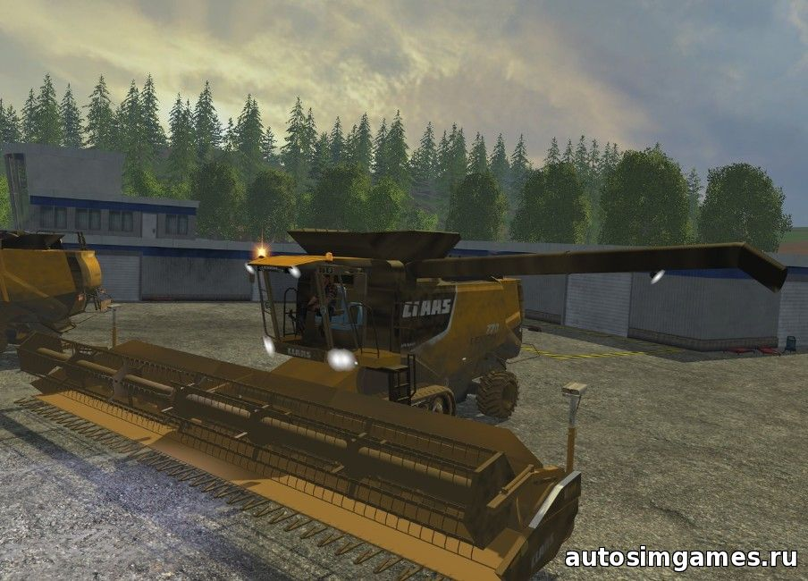 скачать комбайн Claas Lexion 770 для Farming Simulator 2015