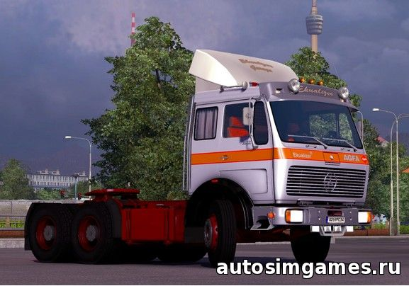 Mercedes Benz ng1632 для ets 2