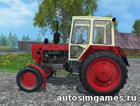 Трактор ЮМЗ 6КЛ для Farming Simulator 2015