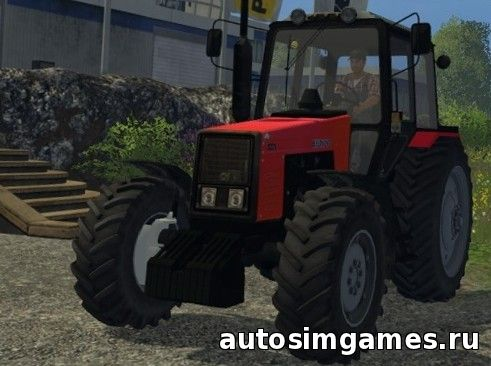 МТЗ-1221 для Farming Simulator 2015