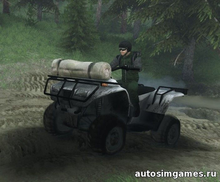 квадроцикл quadbike spintires 2015