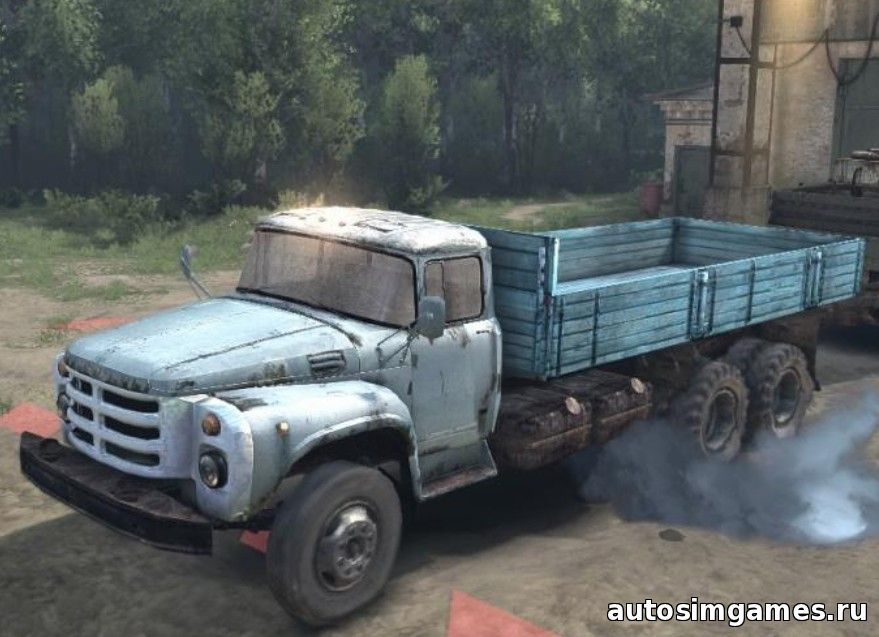 zil 133 mod spintires 2015